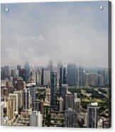 Chicago Skyline Aerial Photo Acrylic Print