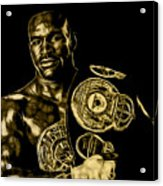 Evander Holyfield Collection Acrylic Print