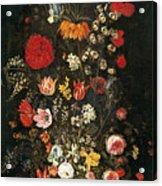Flower Vase Acrylic Print