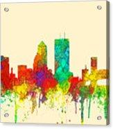 Jacksonville Florida Skyline Acrylic Print