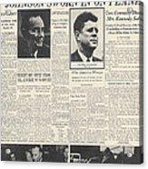 John F Kennedy (1917-1963) Acrylic Print