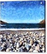 Livada Beach Acrylic Print