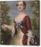 Martha Washington Acrylic Print by Granger
