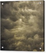 May Nebraska Storm Cells Acrylic Print