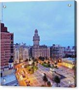 Montevideo, Uruguay Acrylic Print