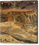 Moonland Ladakh Jammu And Kashmir India Acrylic Print