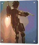 New Star Wars Poster Acrylic Print