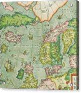 Old Map Acrylic Print