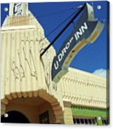 Route 66 - Conoco Tower Station Acrylic Print