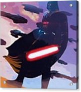 Saga Star Wars Poster Acrylic Print