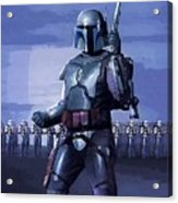 Star Wars Episode 2 Poster Acrylic Print