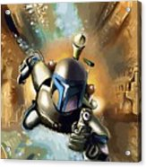 Star Wars For Poster Acrylic Print