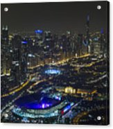 The Grateful Dead At Soldier Field Aerial Photo Acrylic Print