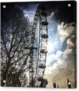 The London Eye Art Acrylic Print