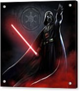 Trilogy Star Wars Art Acrylic Print