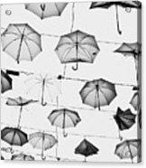 Umbrellas Acrylic Print