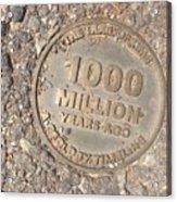 1000 Million Years Ago Acrylic Print