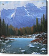 100129-4860  Winters Early Arrival Acrylic Print