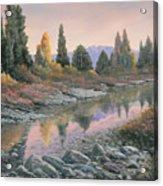 100501-1224  Autumn Reflections Acrylic Print