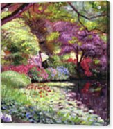 Water Lily Lake Acrylic Print