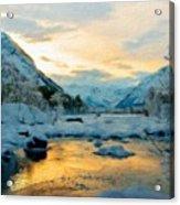 Nature Landscapes Prints Acrylic Print