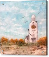 #1082 Saskatchewan Elevator Acrylic Print