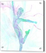 10835 The Gymnast Acrylic Print