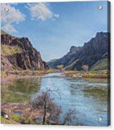 10905 Oregons Owyhee River   Acrylic Print