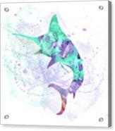 10961 Swordfish Acrylic Print
