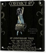 10th Anniversary Tour Acrylic Print