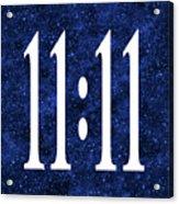11 11 Acrylic Print