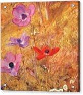 anemones 1876 Henry Roderick Newman Acrylic Print