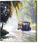 Backwaters Kerala - India Acrylic Print