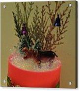 Diorama Miniature Scene Acrylic Print