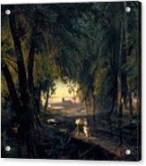 Forest Path Near Spandau Acrylic Print