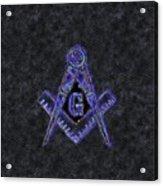 Freemason, Mason, Masonic Symbolism Acrylic Print