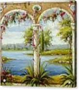 Italian Historical Villas Acrylic Print