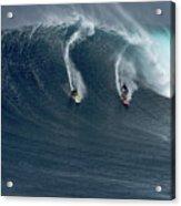 Jaws Wave Acrylic Print