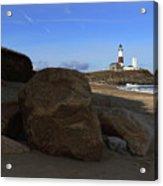 Montauk Point Lighthouse Montauk New York Acrylic Print
