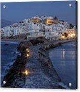 Naxos - Cyclades - Greece Acrylic Print