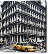 New York Acrylic Print