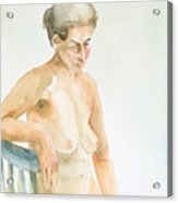 Nude Series Acrylic Print