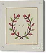 Pieced Autograph Quilt (1 Piece) Acrylic Print