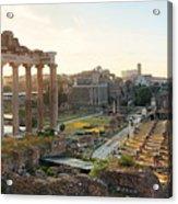 Rome Forum  Acrylic Print