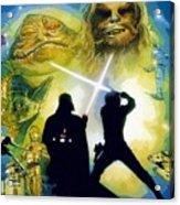 The Star Wars Art Acrylic Print