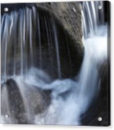 Water Flowing Acrylic Print