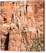 Zion Canyon National Park Utah Acrylic Print