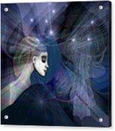 1101   Mysterious  Journey V  Acrylic Print