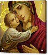Mary And Child Acrylic Print