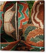 11261 Baskets In Santa Fe Acrylic Print